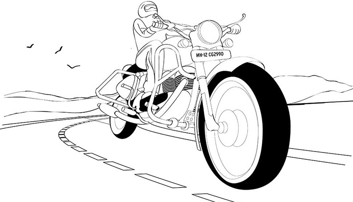 I've Got a Bike by Chaitanya Modak