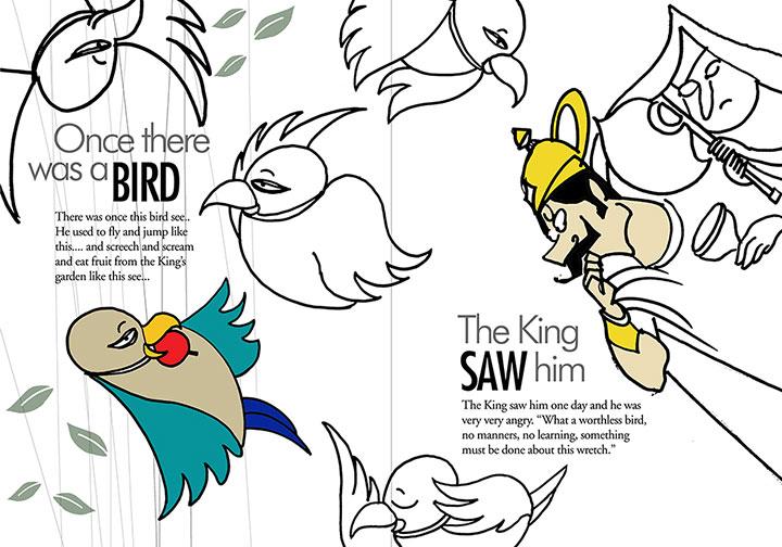A Parrot's Tale by Chaitanya Modak